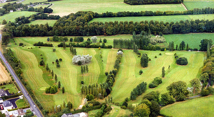 Aerial view Clane Golf Course